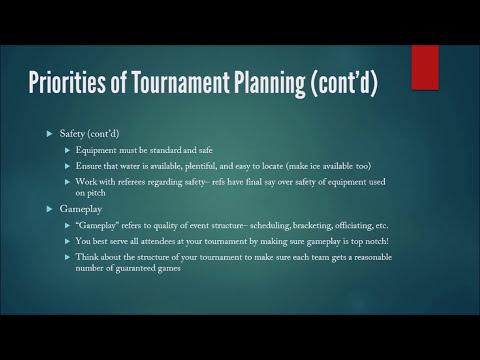 USQ Tournament Director Certification Training, 2017-2018
