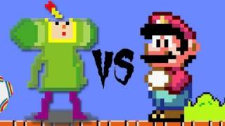 Mario Bros vs. Katamari