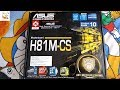 Asus H81M-CS Motherboard Unboxing HINDI in 2019 WHY??