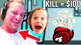 PAPA PLAYS IN AMONG US $100 Every time you win - Gaming w/ The Norris Nuts