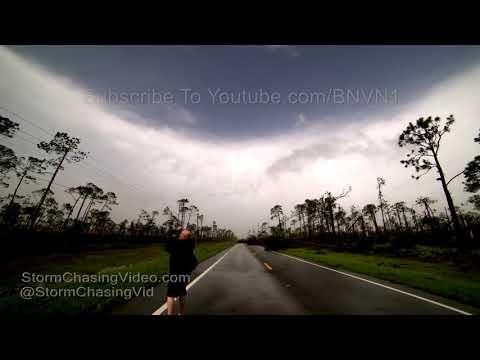 Hurricane Michael Mexico Beach Time-lapse Inside The Eye 10/10/2018