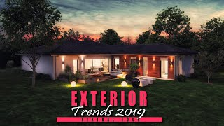 Modern Home Exterior Design ideas 2018- Night View