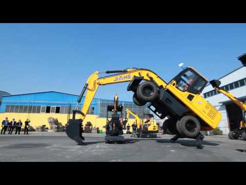 china made high quality wheel and crawler Excavator .