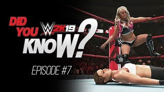 WWE 2K19 Did You Know? New Alexa Bliss Super Move, Hidden Theme, Switch Paybacks & More! (Episode 7)