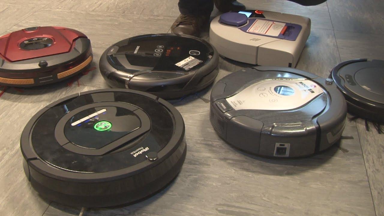 comparatif 6 robot aspirateurs pr ts mordre la. Black Bedroom Furniture Sets. Home Design Ideas