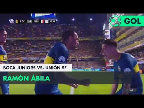 Ramón Ábila (1-0) Boca Juniors vs Unión SF | Fecha 26 - Superliga Argentina 2017/2018