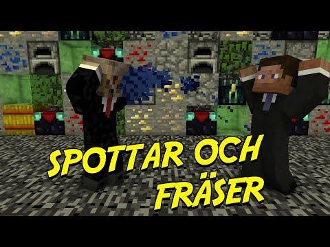 SPOTTAR & FRÄSER | Minecraft Blocked In Combat