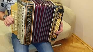 Паша гармонист   мелодии на новой гармошке