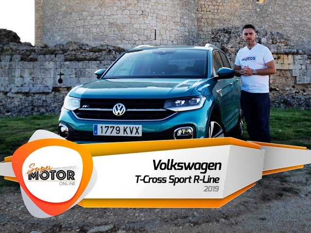 Volkswagen T-Cross Sport R-Line 2019 ↗️ / Al volante / Análisis / Supermotoronline.com