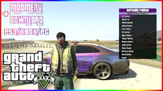 RIPTIDE FORCE GTA5 SPRX MODMENU PS3/XBOX/PC + DOWNLOAD