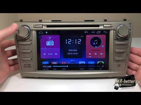 Магнитол да Toyota Camry 40 кузов (W2-K7117T)
