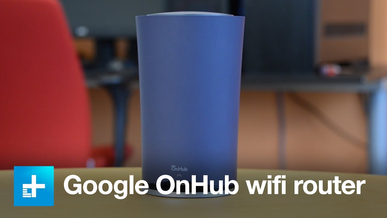 google onhub wifi router hands on dt review youtube. Black Bedroom Furniture Sets. Home Design Ideas