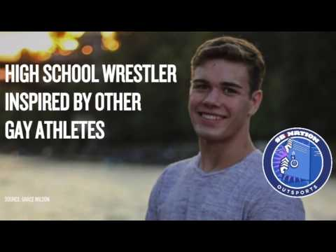 Gay high school wrestler inspired by other gay athletes