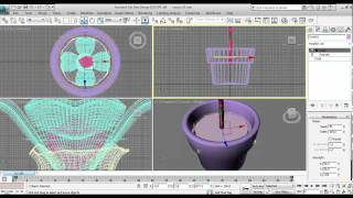 3ds max, Lesson 20, Аниация цветка. Animation of flower. 3д макс урок.