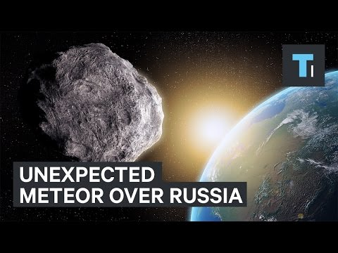 Unexpected Chelyabinsk meteor over Russia