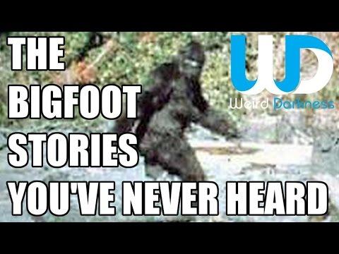"""The Bigfoot Stories You've Never Heard"" #WeirdDarkness"