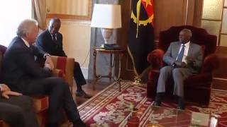 Presidente da General Electric manteve audiência com PR Angola  | Jornal da Zimbo | TV Zimbo |