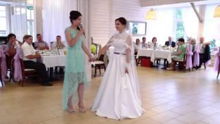 Песня сестре на свадьбу от Юлианы.