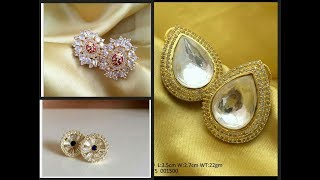 Latest studs earrings designs || LIFESTYLE