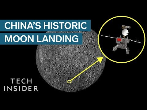 China Is The First To Land On The Dark Side Of The Moon