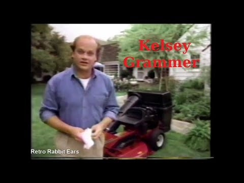 Kelsey Grammer Sner Lawn Mower Commercial From 1992