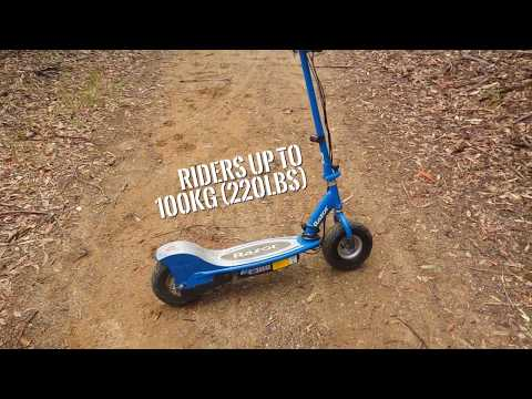 Razor E300 Review by an Adult