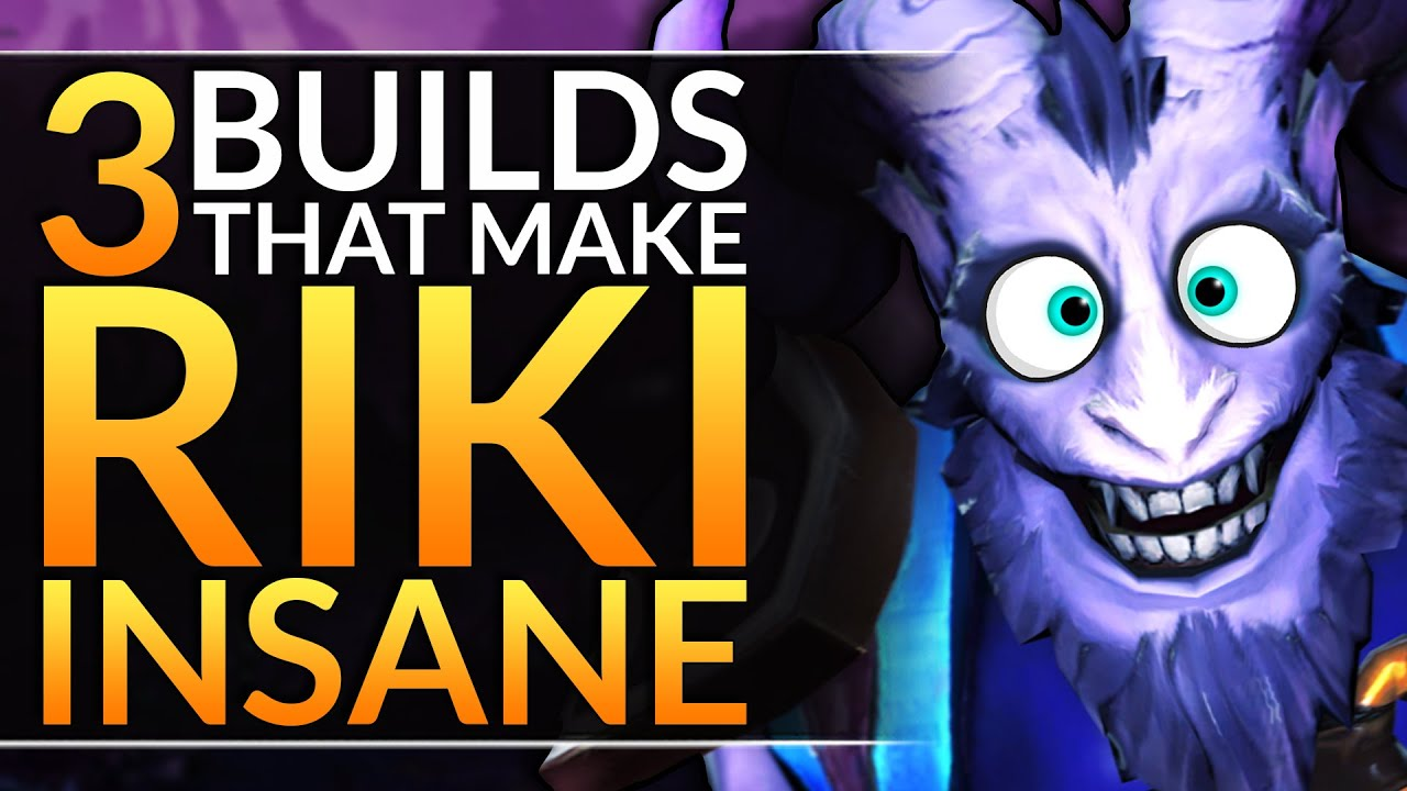 How Miracle Adapts To Any Situation With These 3 Broken Riki Builds Dota 2 Pro Guide Youtube