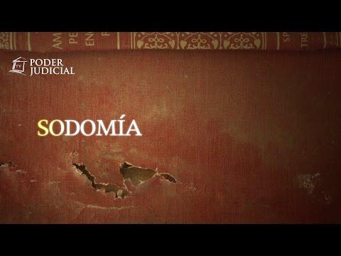 Noticiero Judicial: Origen del delito: Sodomía