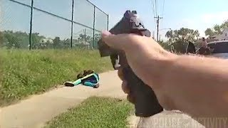 Bodycam Shows Cincinnati Police Officer Shooting Suspect Armed With Gun