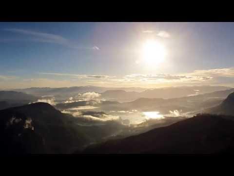 Beautiful Sunrise Time Lapse   Adam's Peak   Sri Lanka