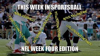 This Week in Sportsball: NFL Week Four Edition (2018)