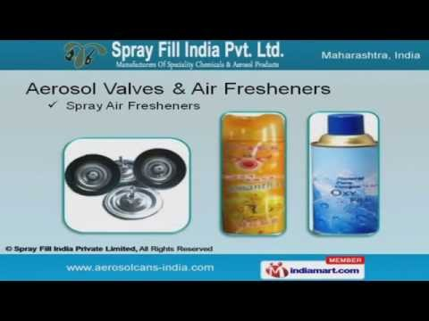 Chemicals & Aerosol Products By Spray Fill India Private Limited, Mumbai