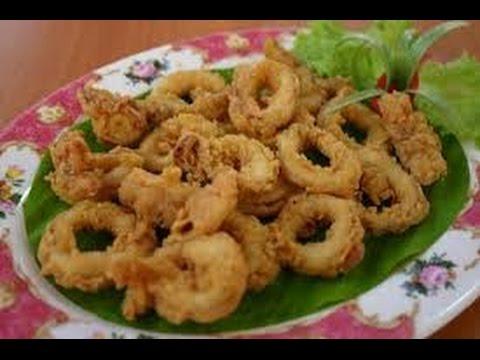 Taha Masak Sotong Goreng Tepung Rangup Kitchen Recipes Youtube