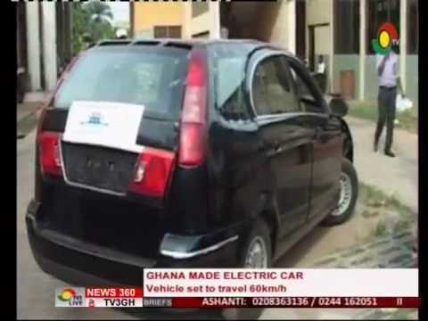 kumasi-polytechnic-manufacture-electric-car---26/6/2016