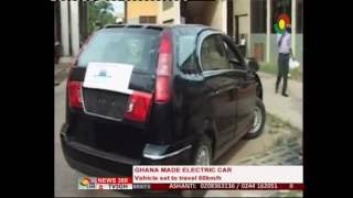 Kumasi Polytechnic manufacture electric car - 26/6/2016