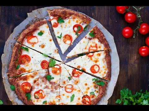 Margherita Pizza with Cauliflower Crust Recipe