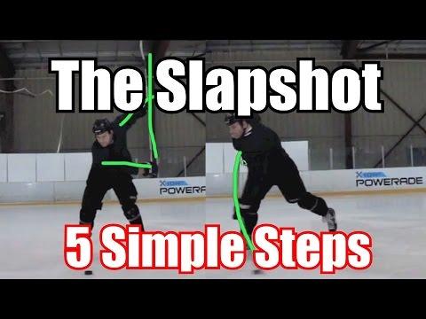 5 Steps - How To Take A Slapshot