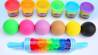 Come And Play with Learn Colors Play Doh Balls Surprise Toys Kids Video Learn And Play