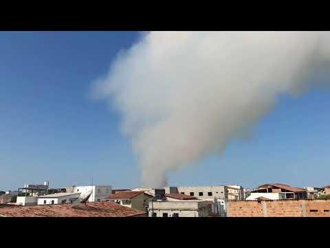 Tornado se formando em São Mateus ES