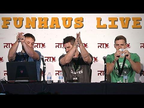 Funhaus LIVE Panel at RTX!