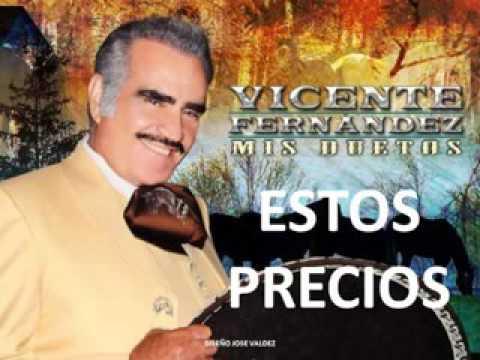 Vicente  Fernández mis duetos