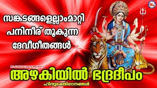 സങ്കടങ്ങളെല്ലാം മാറ്റി പനിനീര് തൂകുന്ന ദേവീഗീതങ്ങൾ   devi devotional songs malayalam   mc audios  