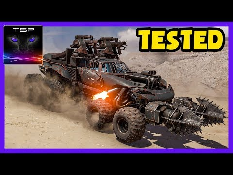 Crossout ► Tested Ep.17 - How Does PowerScore Scaling Work In Raids