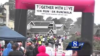 Marriage proposal adds to Together With Love run in Pacific Grove