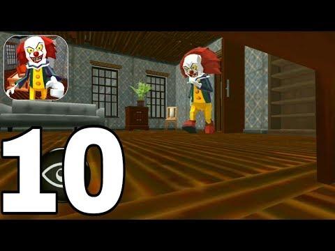 Clown Neighbor Escape - Level 10 Gameplay Walkthrough PART 10 (iOS, Android)