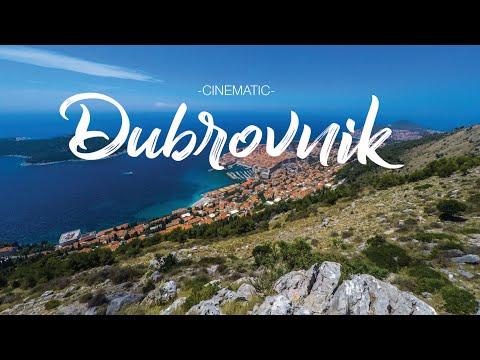 A DAY IN DUBROVNIK, CROATIA | Cinematic HD