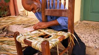 Traditional Chair Maker In Chania, Crete