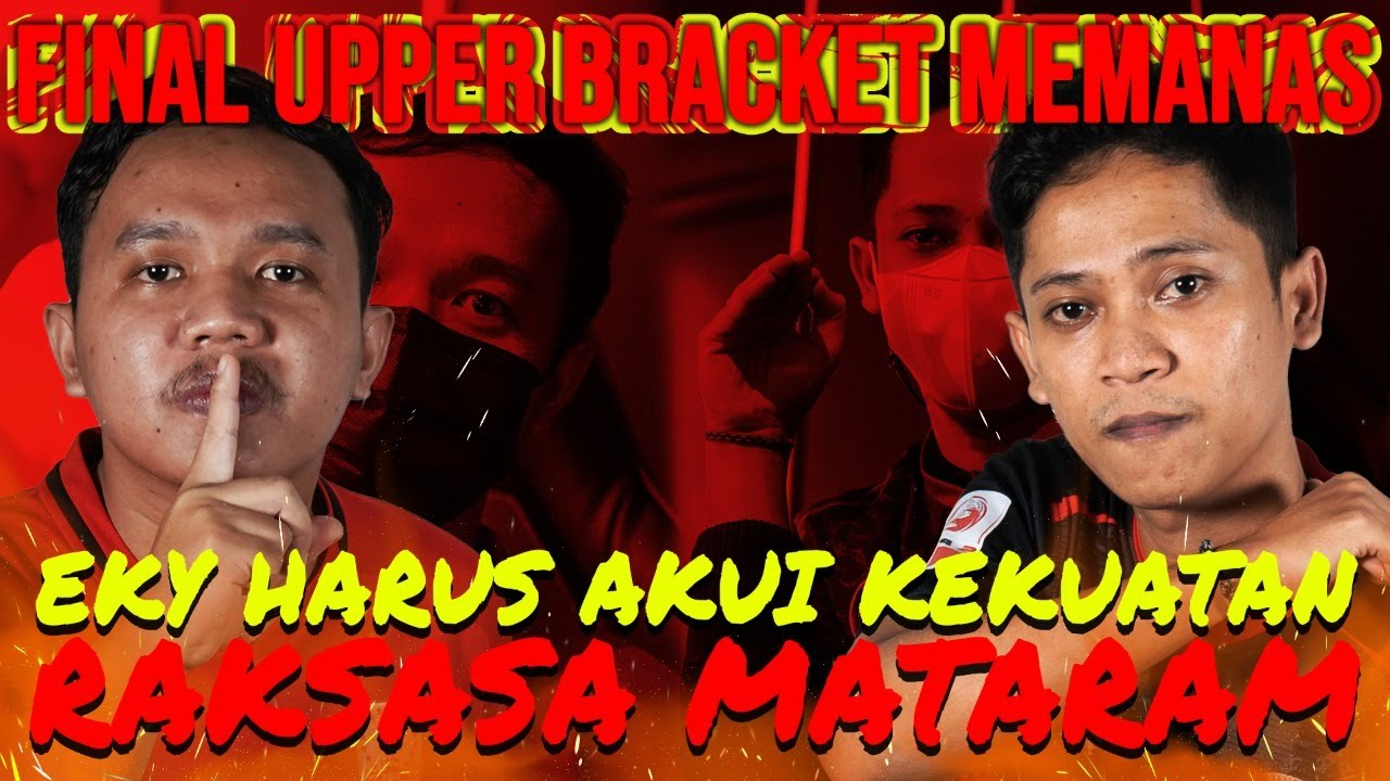BAIM GA MEMPAN SAMA JURUS SHONTOK EKY ! | FINAL UPPER BRACKET | Persis Solo vs Kalteng Putra