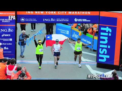 Glory and Guts at 2010 NYC Marathon - New York Post
