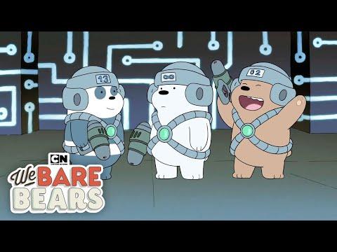 We Bare Bears | Lazer Royale | Cartoon Network